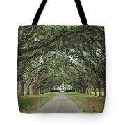 147706-avenue Of The Oaks  Tote Bag