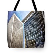 Avenue Of The Stars Tote Bag