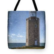 Avery Point Lighthouse Tote Bag