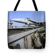 Aviation Boatswains Mate Launches An Tote Bag