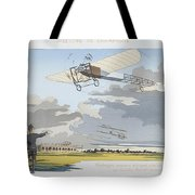 Aviation Meeting At Champagne Tote Bag