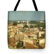 Avignon From Les Roches Tote Bag