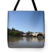 Avignon - Pont Saint Benezet Tote Bag