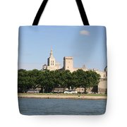 Avigon View From River Rhone Tote Bag