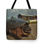 Avon Harbor Large Turtle 1 6/07 Tote Bag
