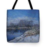 Avon In The Snow Tote Bag