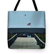 Avon Pier Front Ramp 7/03 Tote Bag