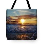 Avon Pier Surfers Paradise 9/08 Tote Bag