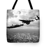 Avro Birds - Mono  Tote Bag