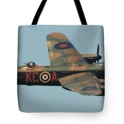 Avro Lancaster Tote Bag
