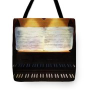 Awaiting Bach Tote Bag
