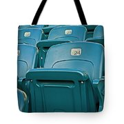 Awaiting The Crowds Tote Bag