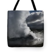 Awakening In Yellowstone Tote Bag