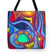 Awakening To Thy True Self Tote Bag by Daina White