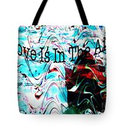 Awareness II Tote Bag