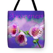 Awareness Tote Bag