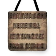 Awesome Inspiring Typography Tote Bag
