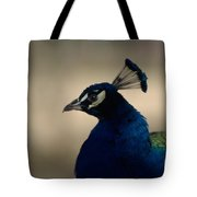Awesome Peacock Tote Bag