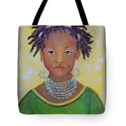 Ayana Beautiful Flower Tote Bag by The Art With A Heart By Charlotte Phillips