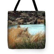 Ayer Lake Tote Bag