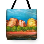 Ayers Rock End Tote Bag