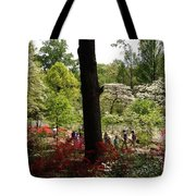 Azaleas Us National Arboretum Tote Bag