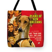 Azawakh Art - The Flame Of New Orleans Movie Poster Tote Bag