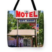 Aztec Motel -  Seligman Tote Bag