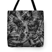 B-24 Bomber Belly Gunner - 1943 Tote Bag