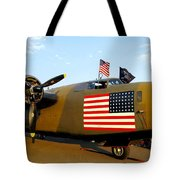 B-24 Bomber - Diamond Lil Tote Bag