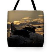 B-25 Sunset Tote Bag