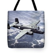 B-25 World War II Era Bomber - 1942 Tote Bag