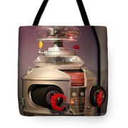 B-9 Robot From Lost In Space Tote Bag