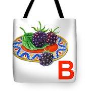B Art Alphabet For Kids Room Tote Bag