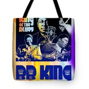 B. B. King Poster Art Tote Bag
