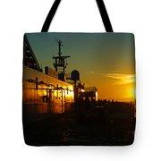 B C Ferries Sunsets Sc3417-13 Tote Bag