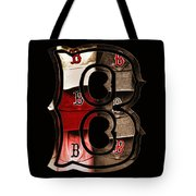 B For Bosox - Vintage Boston Poster Tote Bag