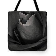 B-w Rose Tote Bag