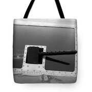 B17 50 Cal Machine Gun Tote Bag