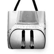 B17 Bomber Tail Guns Tote Bag