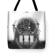 B17 Nose Guns Tote Bag