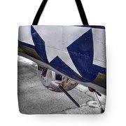 B17 Texas Raiders V12c Tote Bag