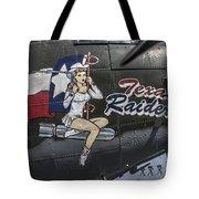 B17 Texas Raiders V9c Tote Bag
