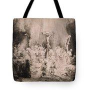 The Three Crosses, Circa 1660 Tote Bag