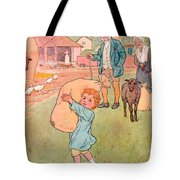Baa Baa Black Sheep Tote Bag