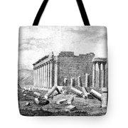 Baalbek Aka Heliopolis, 1845 Tote Bag