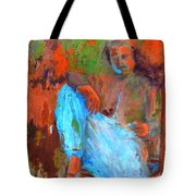 Baba In A Chair Tote Bag
