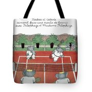 Babar The Elephant, 1930s Tote Bag