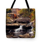 Babcock Grist Mill And Falls Tote Bag