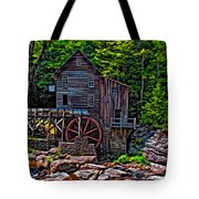 Babcock State Park Paint Tote Bag